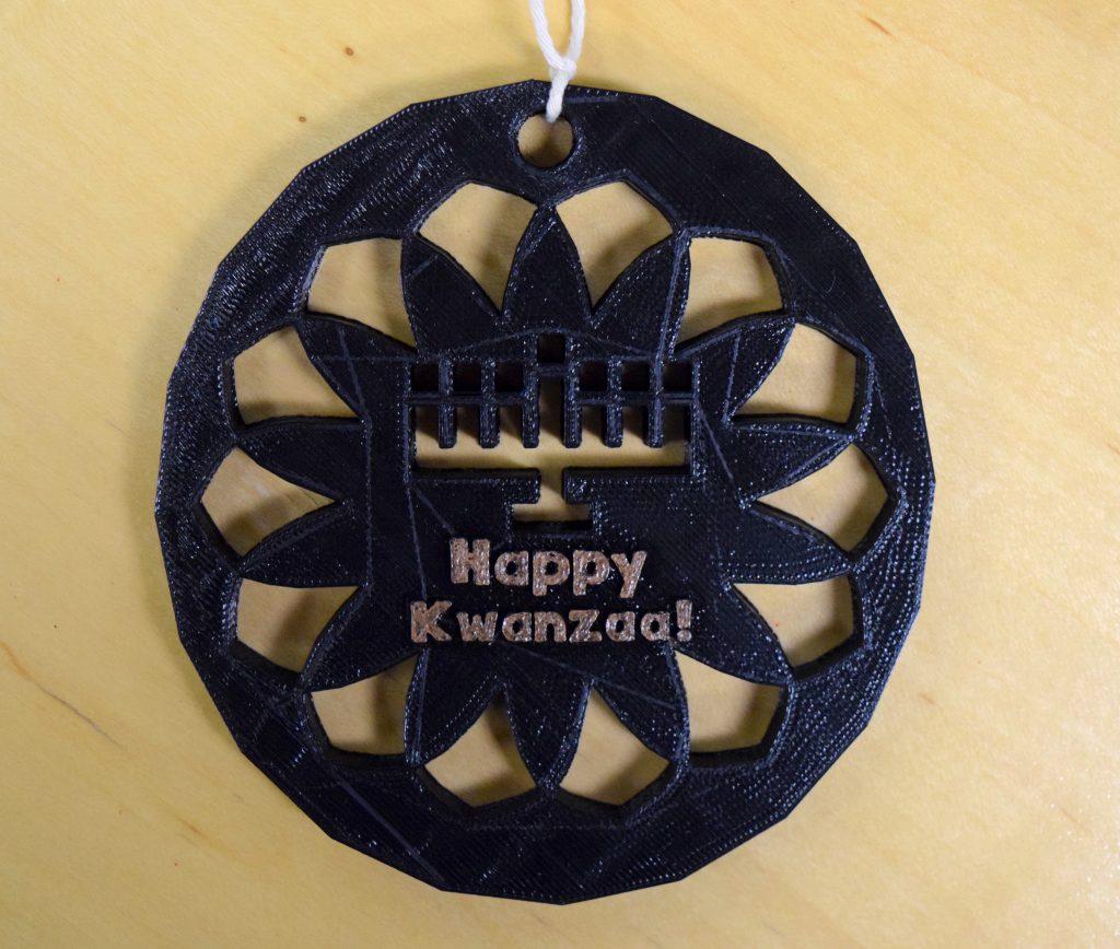 Kwanzaa ornament.